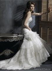 批發供應外貿精美婚紗JY33