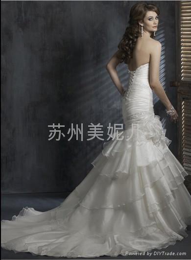 批發供應外貿精美婚紗JY33 2