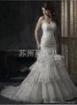 批發供應外貿精美婚紗JY33 3