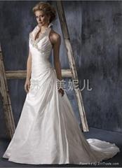 批發供應外貿精美婚紗JQ02