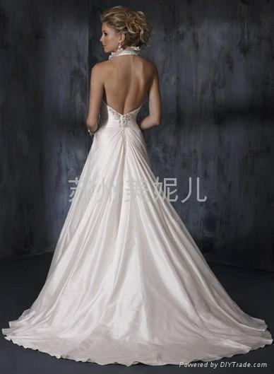 批發供應外貿精美婚紗JQ02 2
