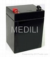 12v5Ah rechargeable VRLA battery