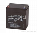 Sealed Lead Acid Battery 12V 4.5AH (Upgrade to 5AH) for UPS & Emergency Lights