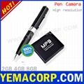 [Y-MP9]640x480 4GB Spy Pen Camera from