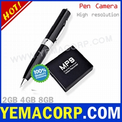 [Y-MP9]640x480 4GB Spy Pen Camera from Manufacturer YEMACORP