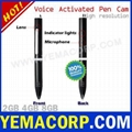 [Y-MP9VOX] Voice Activated 8GB HD Spy Video Pen Recorder from YEMACORP 1