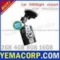 [Y-CARDVRA]Night vision Car Recorder/Car