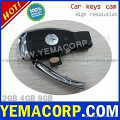[Y-DVRKCX]Car key fob camera 720x480 2GB/4GB/8GB from YEMACORP