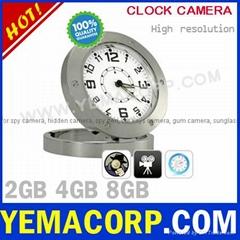 [Y-CKCAMA]Hidden Spy Clock Camera Motion Detection 1280x960 AVI