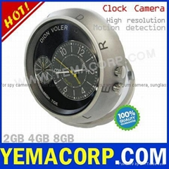 [Y-CKCAME] High Definition Hidden Clock Pinhole Spy Camera from YEMACORP