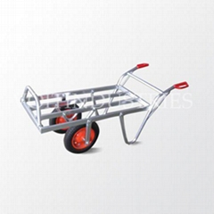 Aluminium wheelbarrow garden cart