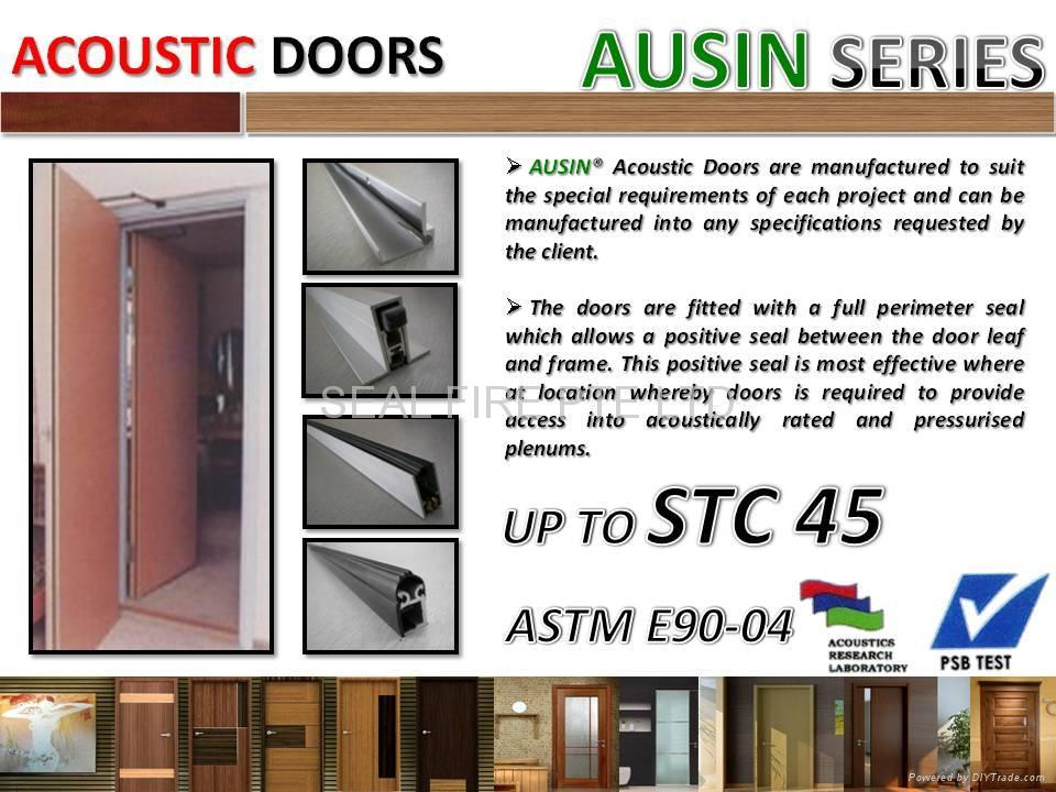 Acoustic Door 1  sc 1 st  DIYTrade & Acoustic Door - AAD - AUSIN (China) - Wooden \u0026 Timber Door - Door ...