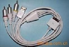 ipod/iphne  AV cable