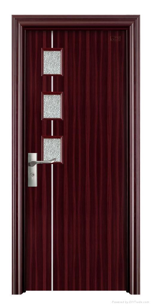 Steel Doors Product : Steel wooden interior doors gf guangfeng china