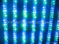 UL 3 wires Flat LED Rope Light