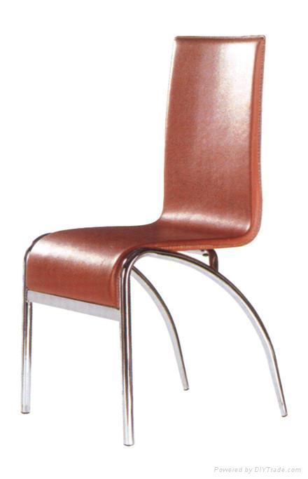 Pvc Chair Product : Pu pvc mdf metal dining chair cx fnt china