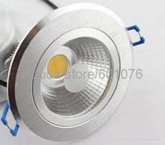 COB led downlight led ceiling light 3w