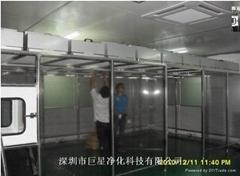 深圳百級超淨棚研發生產
