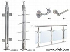 不鏽鋼樓梯扶手及配件