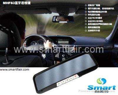 mirror bluetooth car kit 3