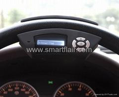 Bluetooth handsfree steering wheel speakerphone
