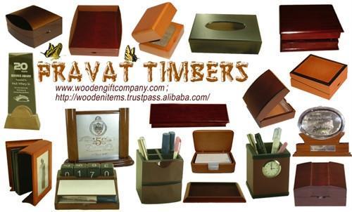 Wooden Box Items 1