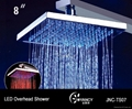 LED overshower head-JNC-TS07