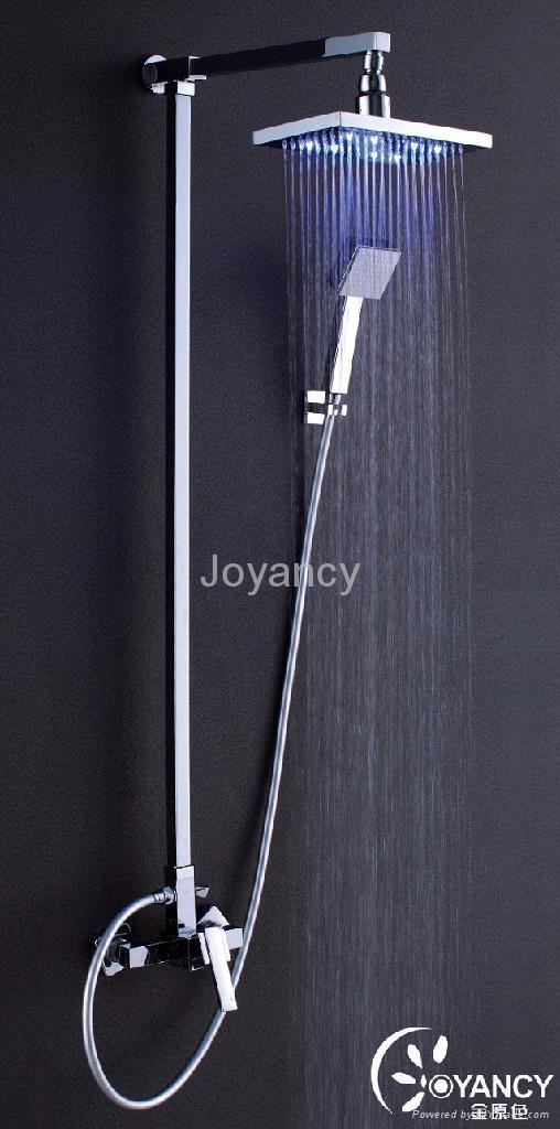 LED overshower head-JNC-TS07 2