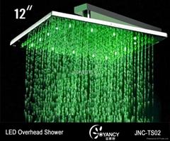 LED overhead shower-JNC-TS02