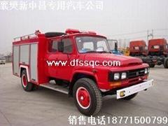 東風尖頭水罐消防車