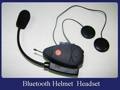 Bluetooth motorcycle helmet headset