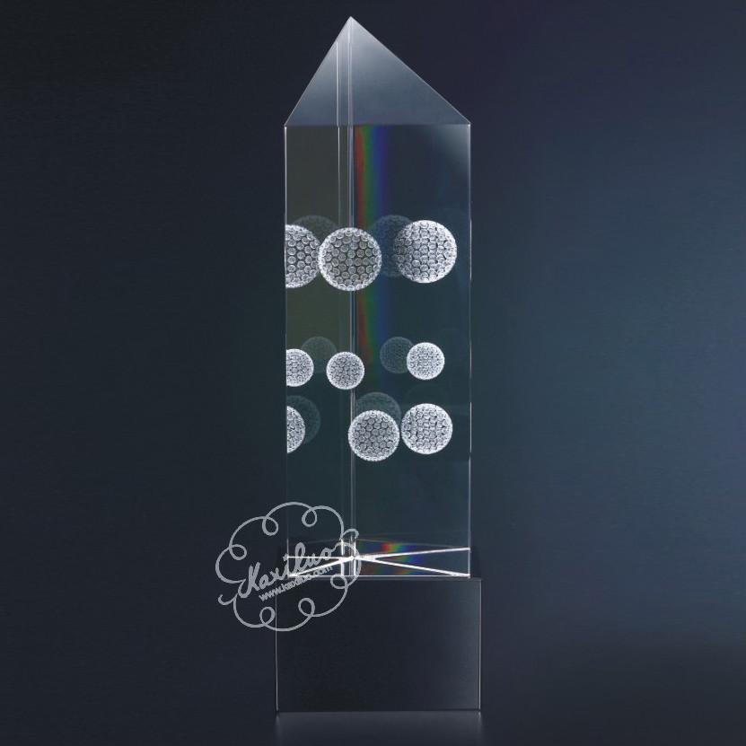 廈門水晶獎杯(圖) 1