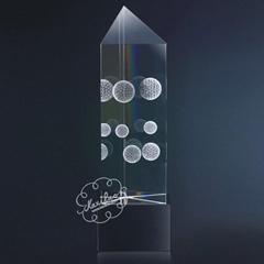 厦门水晶奖杯(图)