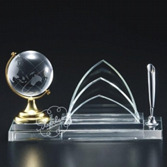 厦门水晶办公摆件(图)