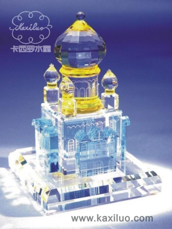 供應廈門卡西羅水晶樓模 1