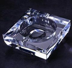 厦门水晶烟灰缸(图)