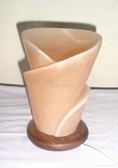 Flower Vase 2 Salt Lamp