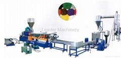 PP/PE water-ring granulating line