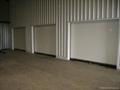 Noiseless roller shutter door 2