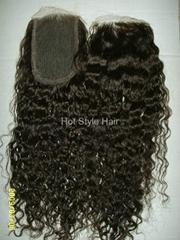 ladies' hair piece/ hair replacement