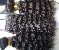 Hot Sell virgin hair weft hair extension