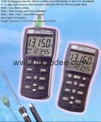 溫度記錄表(溫度計)TES1315K.J.E.T.R.S.N