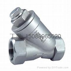 不鏽鋼絲扣Y型過濾器Y11W-200LB