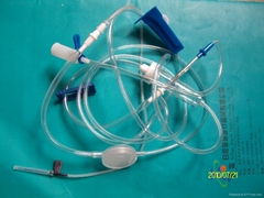 Infusion Sets With Precision Filters For Single Use