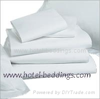percale hotel bed linens
