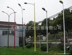 铝合金路灯灯杆