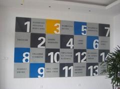 蘇州形象牆科室牌製作