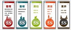 苏州工厂5S标牌制作