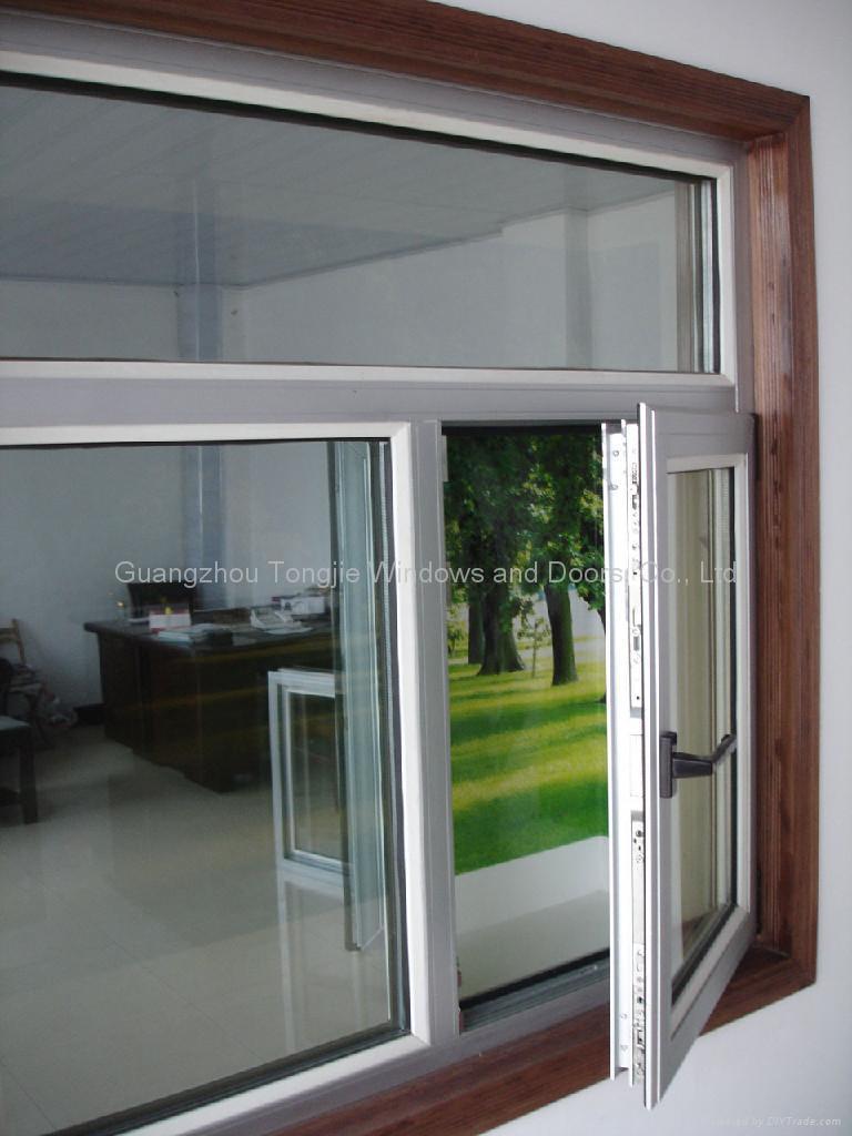 China Aluminum Window : Aluminium window casement tj china metal