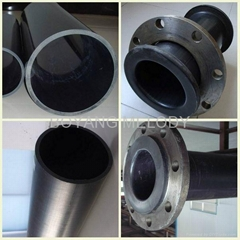 wear resistance UHMWPE pipe for sandy slurry